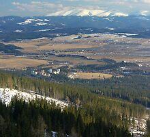 Southeast from Strbske Pleso by M G  Pettett