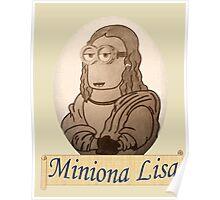 Miniona Lisa Poster