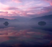 Borrowdale in Pink by Tim Haynes