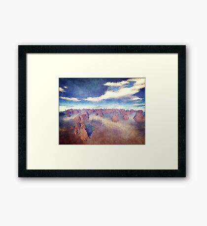Islands of The Earth Framed Print