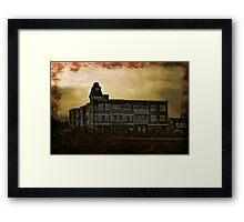 Welcome Home, Sanitarium Framed Print