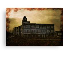 Welcome Home, Sanitarium Canvas Print