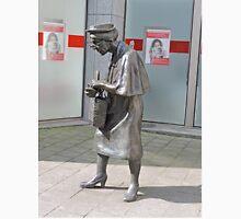 Statue of Madame Chapeau, Brussels, Belgium  Unisex T-Shirt