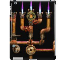 Steampunk - Plumbing - Lighting the Menorah iPad Case/Skin