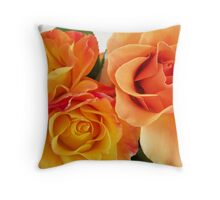 Peach Rose.. Throw Pillow