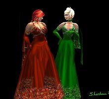 Red and Green by Shoshana Epsilon
