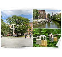 Aarhus canal  Poster