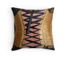Corset Throw Pillow