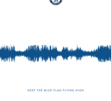 Fan Chants - Keep the blue flag flying high - Chelsea FC Sticker