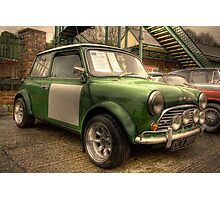 Mini Cooper S Photographic Print