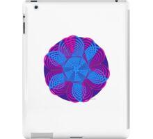 sdd Heart light blue pink Fractal 5K iPad Case/Skin
