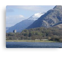 View of Snowdon Canvas Print