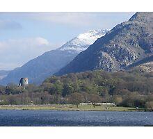 View of Snowdon Photographic Print