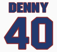 National baseball player John Denny jersey 40 by imsport
