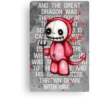 Devil Doll Canvas Print