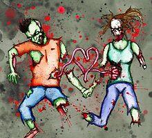 Zombie Love by LVBART