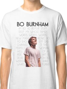 Bo Burnham Song titles Classic T-Shirt