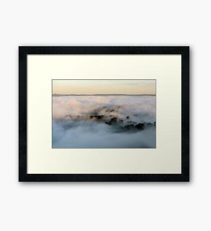 Mystery World - Mount Barker Framed Print