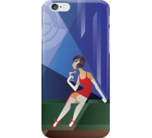Art Deco Lady with cocktail iPhone Case/Skin