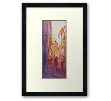 Florence Bikers  Framed Print