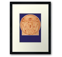 DOCTOR GALLIFREYANUS  Framed Print