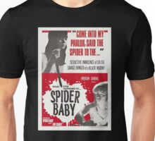 Spider Baby Poster Artwork Unisex T-Shirt