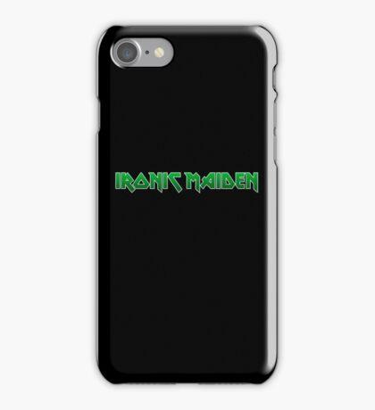 Ironic Maiden iPhone Case/Skin