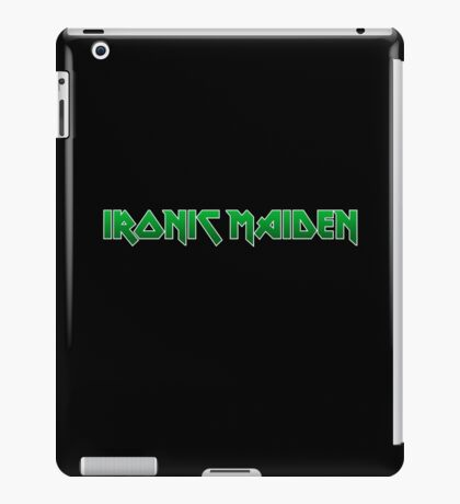 Ironic Maiden iPad Case/Skin