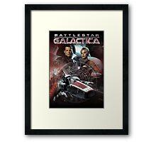 Battlestar Galactica Framed Print