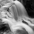 Waterfall, Monsal Head by planetloco