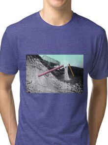 PEOPLE SPILL. Tri-blend T-Shirt