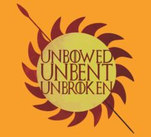 house martell - unbowed, unbent, unbroken by altershirt