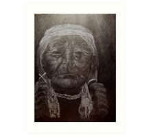 Medicine Man Art Print