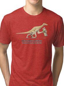 Deinocheirus - Arms Race Finalist Tri-blend T-Shirt