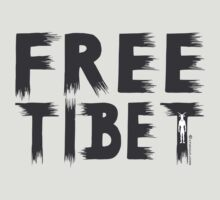 FREE TIBET by fuxart