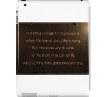 Words To Consider iPad Case/Skin
