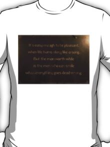 Words To Consider T-Shirt