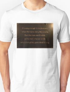 Words To Consider Unisex T-Shirt