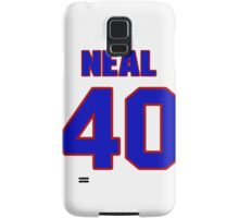 National baseball player Thomas Neal jersey 40 Samsung Galaxy Case/Skin