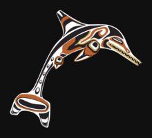 Kwakwaka'wakw ichthyosaur One Piece - Short Sleeve
