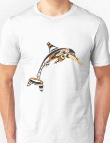 Kwakwaka'wakw ichthyosaur Unisex T-Shirt