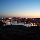 Harbour Sunset by Glenn Esau