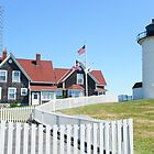 Nobska Lighthouse - Woods Hole - Massachusetts - USA by MotherNature