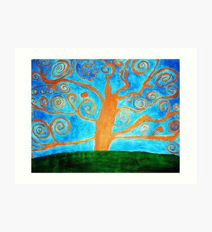 tree of vision Art Print