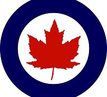 Roundel of the Royal Canadian Air Force, 1924-1968 by abbeyz71