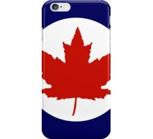 Roundel of the Royal Canadian Air Force, 1924-1968 iPhone Case/Skin