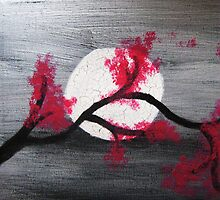 Cherry Moon by lunatiqueart