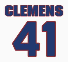 National baseball player Chet Clemens jersey 41 by imsport