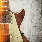 Guitar Vibe 1- Single Cut '59 by Roz Abellera Art Gallery