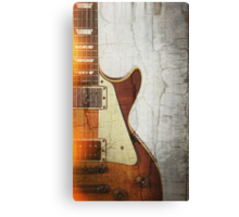 Guitar Vibe 1- Single Cut '59 Canvas Print